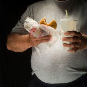 ожирение и неправильное питание